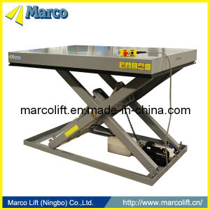 2-3 Ton Marco Single Scissor Lift Table with CE Approved pictures & photos