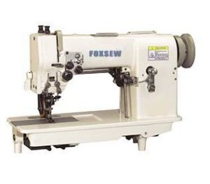 Double Needle Hemstitch Picoting Sewing Machine with Puller pictures & photos