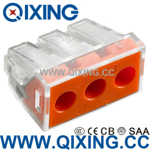 IEC60998 Splice Wire Connector Compact Push Wire pictures & photos