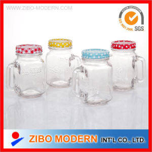 Wholesale 10oz Mason Jars with Printing Metal Lid pictures & photos