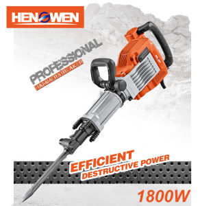 1800W 16e Electric Big Breaker Hammer with Anti-Vibration (Z1G-HW-16)