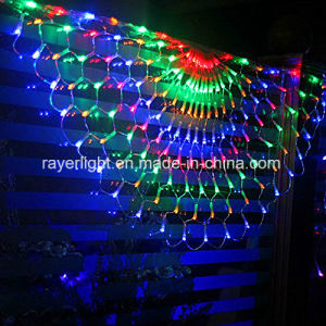 Half-Round LED Colorful Net Mesh Lights pictures & photos