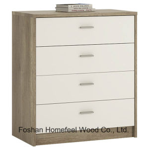 Wooden Bedroom Furniture 4 Drawers Chest Dresser Cabinet (HC15) pictures & photos