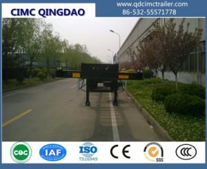 Cimc 2/3 Axles ISO 40′ Container Carrier Skeletal Semi Trailer Chassis pictures & photos