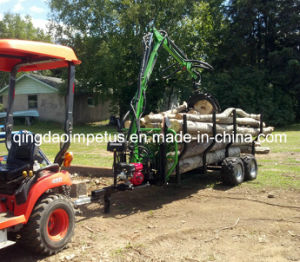 ATV/Tractor Timber/Forest/Log Trailer with Crane LC-300 pictures & photos