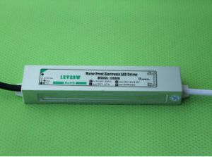 12V 20W IP67 CE RoHS Waterproof LED Driver pictures & photos