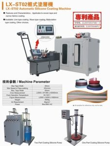 Automatic Silicone Coating Machine (LX-ST02) pictures & photos