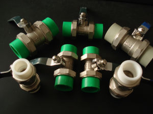 PPR Ball Valves/PPR Double Union Ball Valve pictures & photos