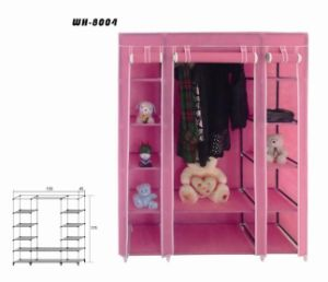 2015 Best-Selling Single Door Foldable Wardrobe Closet