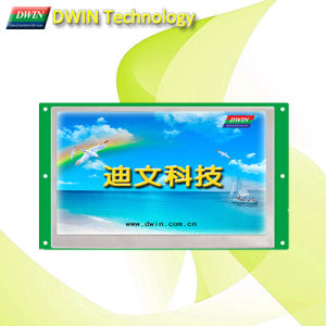 "High-Definition, Wide Viewing, 7.0"" Uart TFT LCD Module / HMI with Optional Touch Panel, Dmt10600t070_01W"