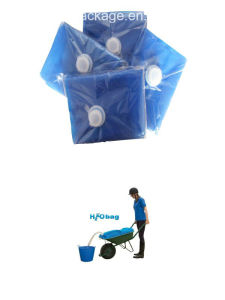 80L Food Grade LDPE Water Bag Folding Water Carrier Bag (NBSC-WB080) pictures & photos