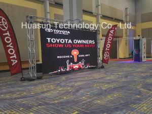 Portable LED Curtain Video Wall for Promotion pictures & photos