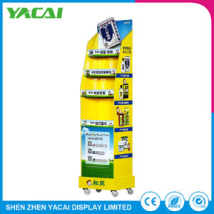 Speciality Stores Paper Stand Wholesale Cosmeceuticals Display Rack pictures & photos