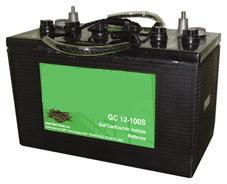 Golf Cart Battery (GC12-100S)