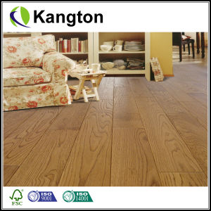 Natural Oak Solid Hardwood Flooring (solid wood flooring) pictures & photos