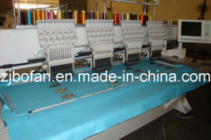 Flocking Embridery Machine 4 Heads High Precision High Speed Computer Operation Tufting for Export Price pictures & photos