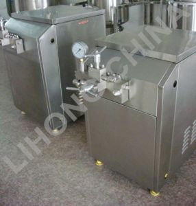 Stainless Steel Homogenizer with Different Working Pressure pictures & photos