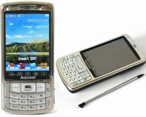 Qual-Band Dual-SIM TV Phone with FM & Bluetooth (Anycool) (KF-T808)