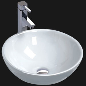 Unique Porcelain Bathroom Vessel Sink (6049 & 6050)