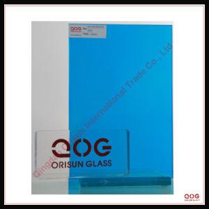 Dark Blue Laminated Glass CE, SGS, 3c,