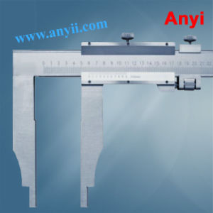 Vernier Calipers Without Upper Jaws (Mono-Block Vernier, Type D) pictures & photos