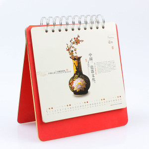 High Quality Hot Stamping Desk Calendar pictures & photos
