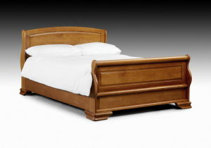 King Queen Size Solid Wooden Platform Bed pictures & photos
