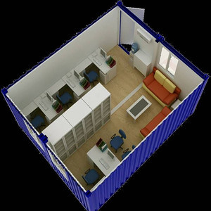 Prefabricated Container Office House C001 pictures & photos
