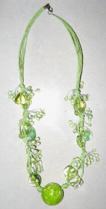 Delicate Acrylic Necklace (B232)