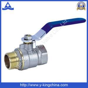 Brass Ball Valve with Lock Water Meter (YD-1010) pictures & photos