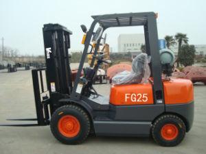 2.5 Ton Gasoline/LPG Forklift Truck (FG25, FG25L)