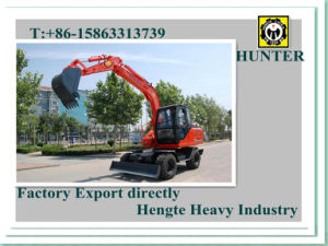 Wheeled Excavator (HTL80-9) pictures & photos