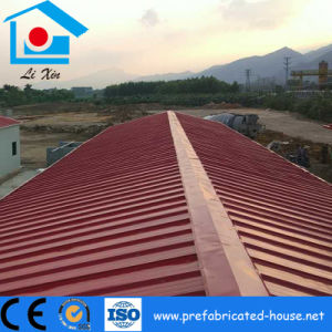 Modular Steel Building Frame with Good Looking Roof Steel Sheet pictures & photos