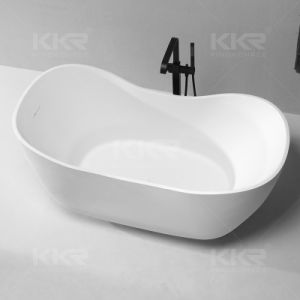 Kkr Europe Style Resin Stone Freestanding Customized Bathtub pictures & photos