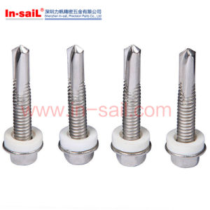 316 Type Hex Head Self Drilling Screw with EPDM Washer pictures & photos