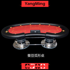 Bean Value Economical Model Texas Poker Casino Table (YM-TB014) pictures & photos