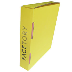 Yellow and Cheap Paper Corrugated Box for Gift Packing pictures & photos