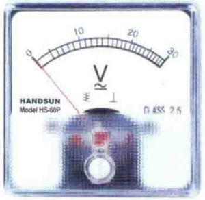 Panel Meter (HS-44P, 50P, 60P) pictures & photos