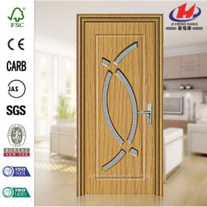 Bathroom Kerala Prices Plastic Laminate Interior PVC Doors (JHK-P03) pictures & photos