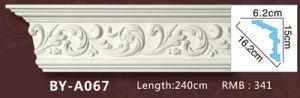 PU Ceiling Medallion Tile/Decorative Ceiling Medallions/Polyurethane Cornice Moulding pictures & photos