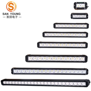 40W CREE 10W Single Row LED Work Light Bar Offroad Driving Super Bright pictures & photos