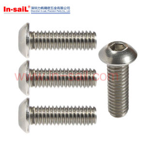 ISO7380 Threaded up Hexagon Socket Button Head Cap Screws pictures & photos