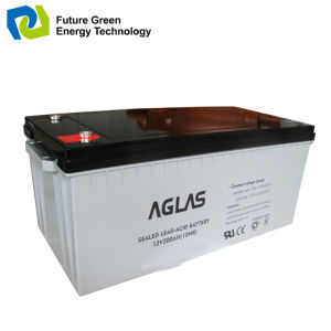 12V150ah Deep Cycle Sealed VRLA AGM Lead Acid Battery pictures & photos