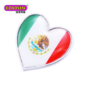 Hot Selling Custom Metal Enamel Country Flags Lapel Pin No Minimum pictures & photos