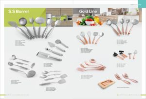 Kitchen Tool for Soup Ladle/ Spoon/ Turner/ Pasta Server/Skimmer/ Fork pictures & photos