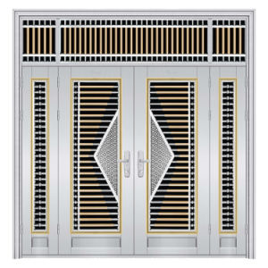 Made in China Four Open Stainless Steel Doors with Standrad Hardware pictures & photos