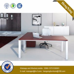 Glass Top Office Furniture L Shape Executive Office Table (HX-NJ5033) pictures & photos