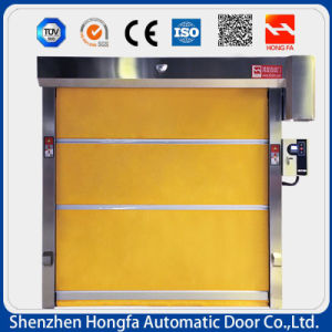 Automatic Industrial PVC High Speed Rolling up Door (HF-02) pictures & photos