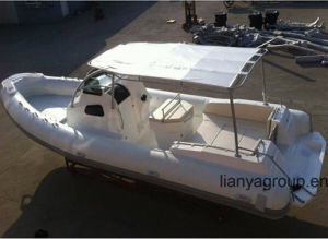 Liya 27feet Luxury Rib Boat Yachts Passenger Speed Boat Sale pictures & photos