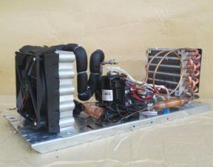 Purswave St14A DC 12V24V DC Air- Cooled Refrigeration Units Mini DC Air Conditioner Units, with DC Mini Compressor 300W Capacity pictures & photos